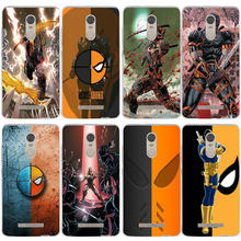 Soft TPU Slim Transparent Cover for Xiaomi Redmi Mi Note 3S 4X 4A 6 5 5S 5A 8 A1 Pro Plus Max 2 3 Bags Deathstroke Mask Comic(China)