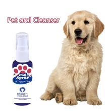 30 мл Pet освежитель для рта Антибактериальный спрей для полости рта свежий очиститель дыхания собака кошка здоровый стоматологический свежий нетоксичный рот для собак