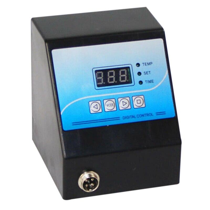 Controlador de Temperatura Digital da Imprensa Térmica da Caixa de Controle Digital para a Caneca Foto de Pedra Placa Camiseta Preto – Mod. 183609