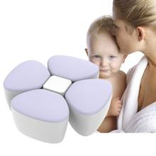 Baby Milk Powder Formula Dispenser Container Children Portable PP Case for Four-Trellis Storage Flower Shaped Sealed Feed Box(China)