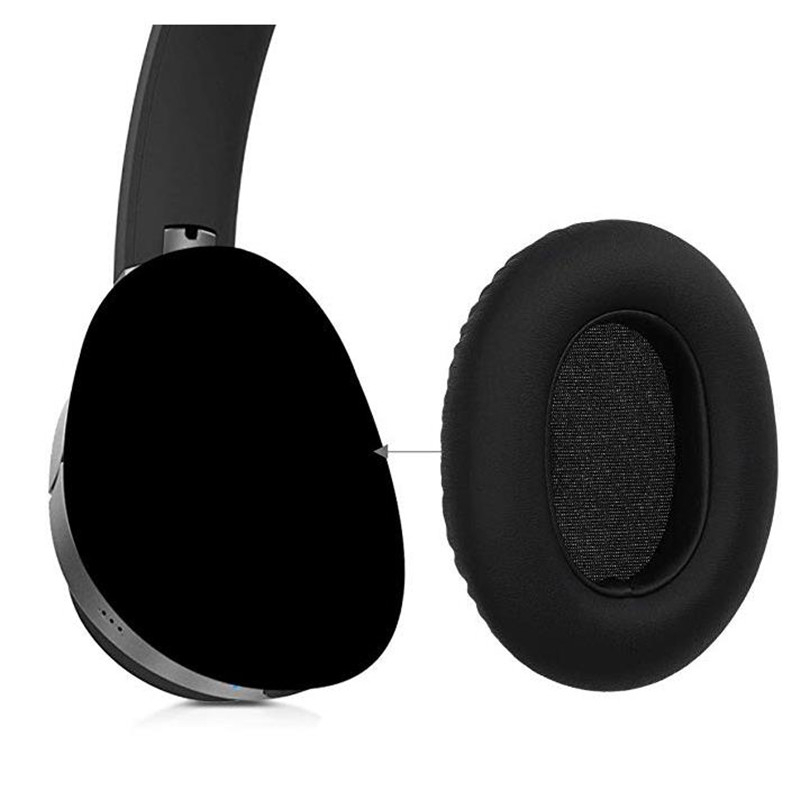 Ear Pads Cushions Replacement For Edifier W830BT Bluetooth Headphones Soft Earmuffs Protein Leather And Memory Foam Earpads Eh in Earphone Accessories from Consumer Electronics