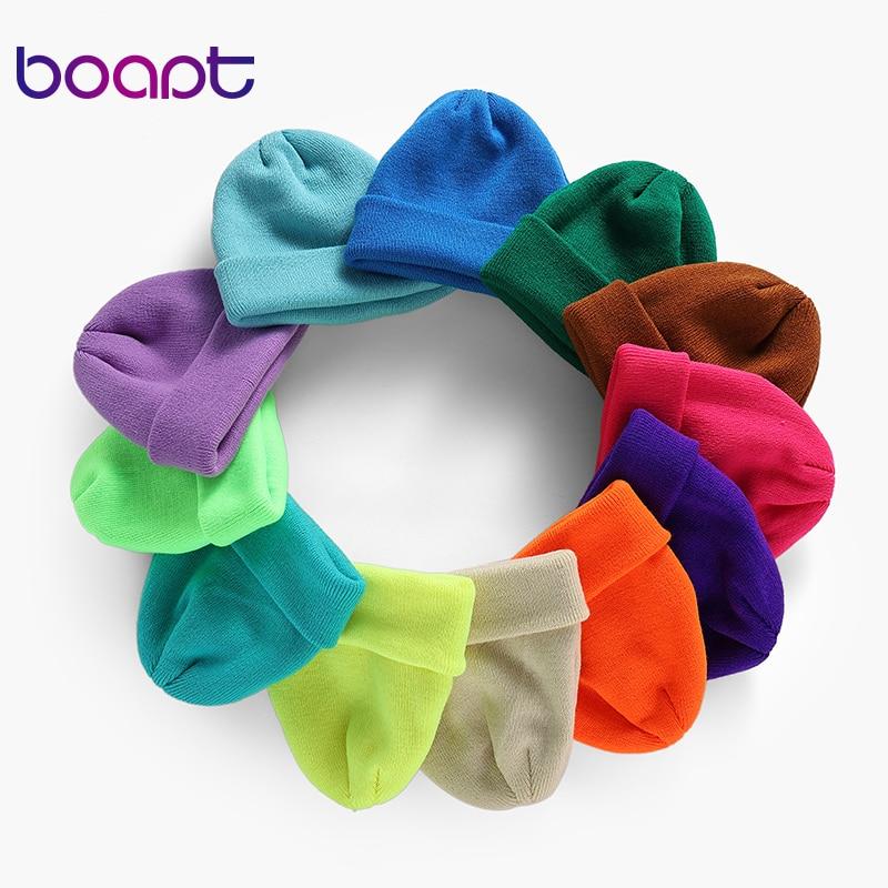 Unisex Knitted Skullcap Hats Winter Hat For Women   Beanies   Caps Boys Girls Elastic Hip Hop   Skullies     Beanies   Autumn Warm Bonnet