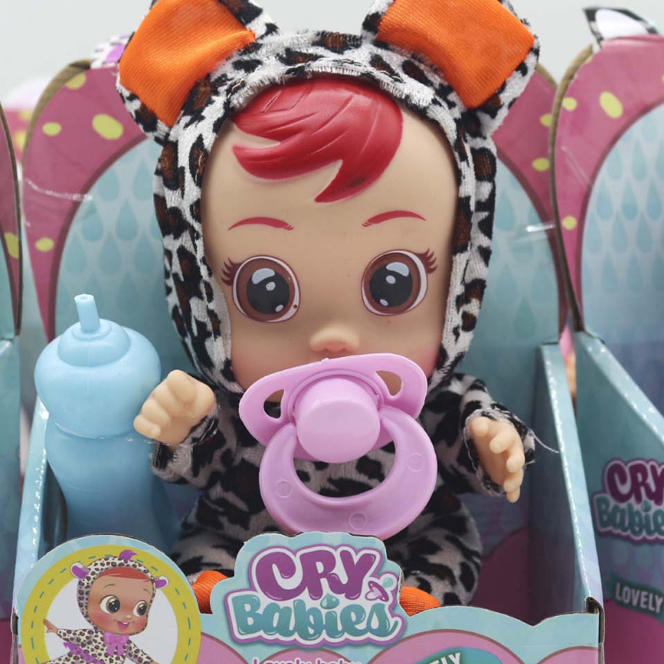 3D Surprise Figure Doll Silicone Doll Action Figure Cry Baby High Quality Magic Tears Dolls Toys For Children Surprise Gift Bjd