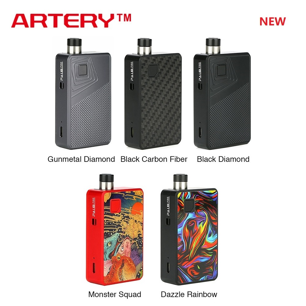 NEW Original Artery PAL 2 Pro Pod Kit MTL & DTL E-cig Vape Kit With 1000mAh Battery & 3ml Pod Pal II Vs Drag Nano