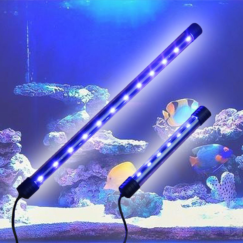 Aquarium Fish Tank LED Light Submersible Waterproof Bar Strip Lamp EU Plug New
