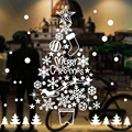 2021 Christmas static window sticker Christmas decoration New Year wallpaper glass window decoration spot large