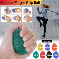 58MM Silicone Hands Finger Exercise Massage Egg Shaped Gripper For Fitness Decompression Stress Relief Vent Ball 15 18 20 30KG