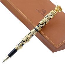 Jinhao caneta esferográfica, alta qualidade, luxo, 0.7mm, nib, novidade, cobra, padrão 3d, caneta para homens, negócios, material de escritório presente