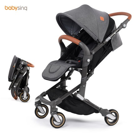 2017 Babysing NEW foldable light weight high landscape umbrella buggy,recline completely baby stroller,pushchair,pram Скульптура
