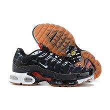 Gorące sprzedawanie buty do biegania Airs Max Plus TN męskie oddychające wygodne elastyczne amortyzatory trampki czarny niebieski czerwony biały