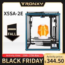 Tronxy X5SA 2E double extrudeuse 2 en 1 sur imprimante 3D multi couleur cyclops tête kits de bricolage mise à niveau pour limpression de deux dégradés de couleur
