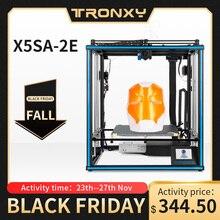 Tronxy X5SA 2E dupla extrusora 2 em 1 para fora impressora 3d multi cor cyclops cabeça diy kits atualizar para dois gradientes de cor impressão