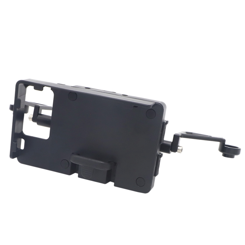 Motorcycle Phone Mount GPS Navigation Bracket Windshield Holder with Charging Case for Yamaha XMAX 300 XMAX300 X MAX 300