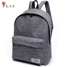 2019 Men Male Canvas Black Backpack College Student School Backpack Bags For Teenagers Mochila Casual Rucksack Travel Daypack MM недорго, оригинальная цена