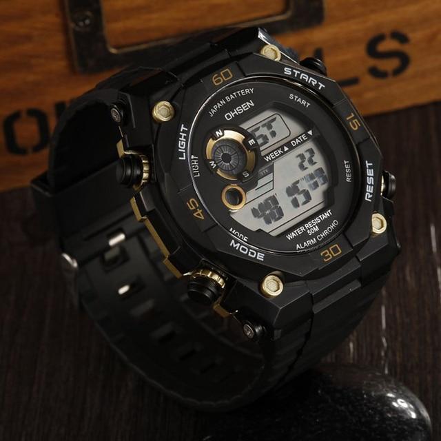 часы наручные мужские с силиконовым ремешком брендовые роскошные фотография