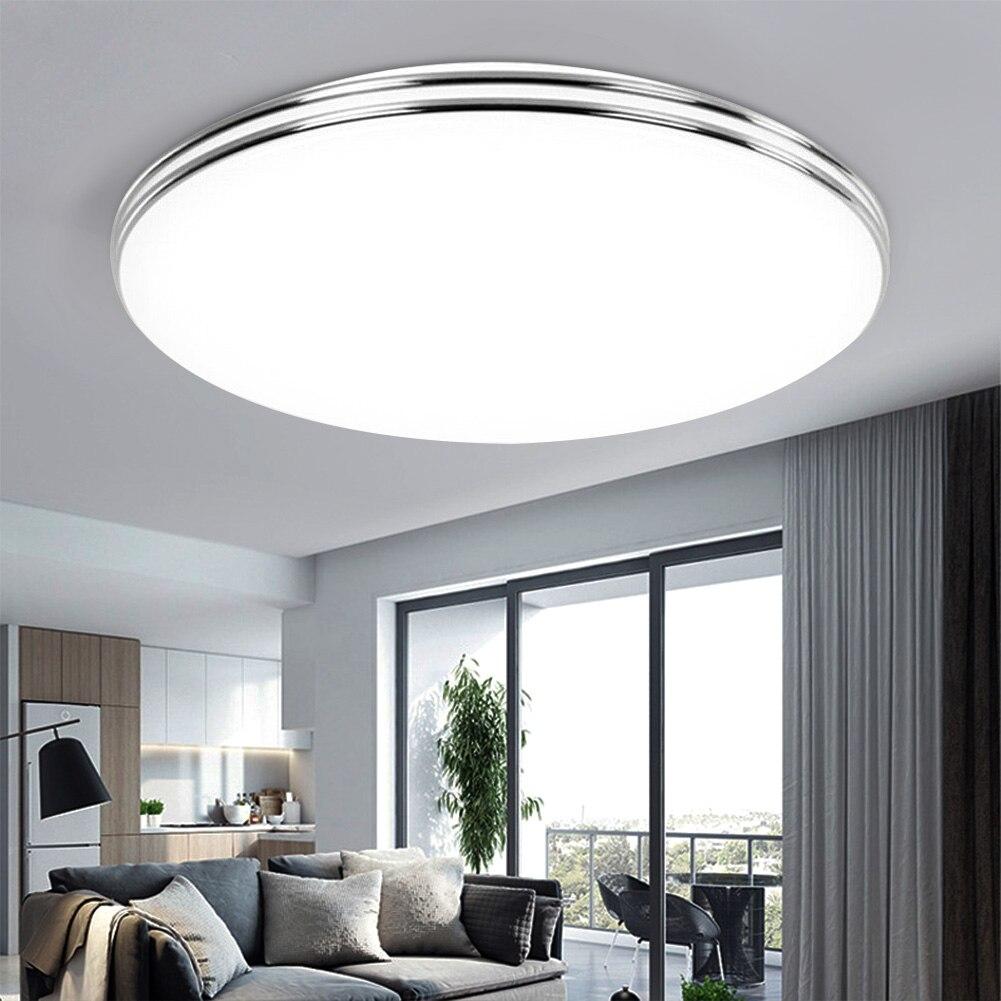 LED Ceiling Light 72W 36W Down Light Surface Mount Panel Lamp AC 220V 3 Colors Change Modern Lamp For Home Decor Lighting