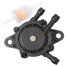 Bomba de combustible para Kohler 17HP-25 HP pequeño motor de cortacésped Tractor, bomba de combustible de vacío de Gas con filtro de combustible para Honda Yamaha Briggs &