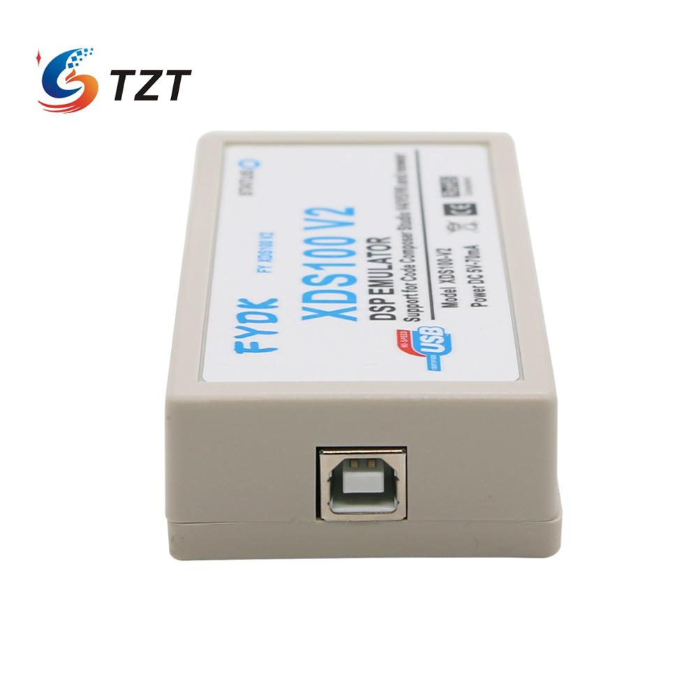 TZT DSP Emulator XDS100 XDS100V2 JTAG Debugger For TI DSP ARM9 Cortex A8 TMS320