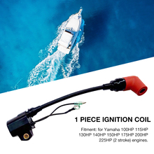 Boat Ignition Coil Replacement For Yamaha 2 Stroke 100 225HP Outboard Engines 6R3855700100/6R3855700100 Boat Accessories Marine