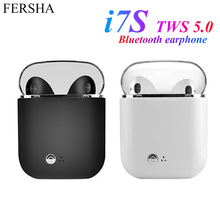 i7s TWS 5.0 Bluetooth earphone HIFI sound Wireless Headphones Stereo sports headphones Hand