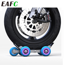 Carrier-Cart Motorcycle-Trailer for Emergency Roadside Assistance Compact Flat-Tire Portable