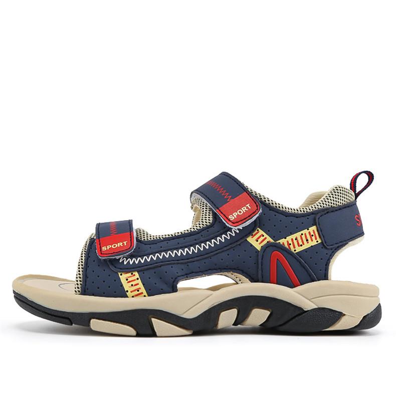 2020 Summer Boys Sandals Kid Sandals Children Shoes Cut-outs Rubber School Shoes Breathable Open Toe Casual Boy Sandal (9)