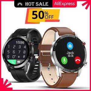 Image 1 - Reloj Inteligente Smart Watch Bluetooth Call IP68 ECG 2021 Smartwatch Men Sprot Smart Watch For Android Xiaomi Huawei IOS Iphone