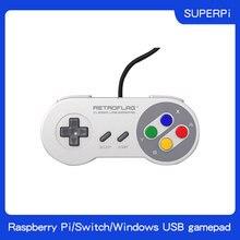 Retroflag Original USB Gamepad SUPERPi Spiel Controller für SUPERPi CASE U/CASE J/NESPi Fall/Raspberry Pi/Schalter /Windows