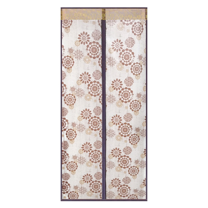 Кондиционер для комнаты/кухни магнитный экран для двери магнитный теплоизолированный сетчатый экран занавес двери - Цвет: E