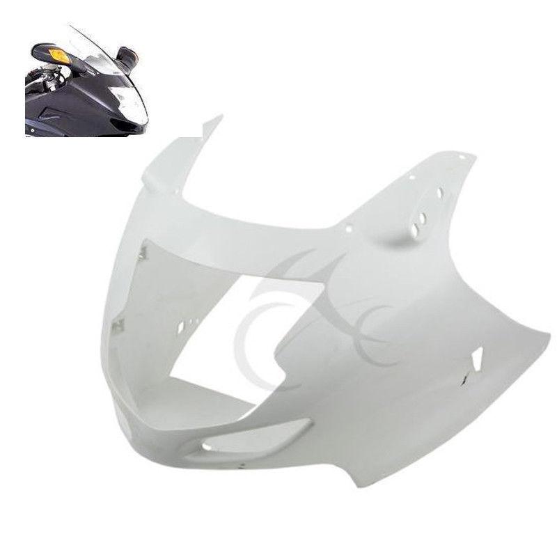 Moto ABS Non Peint Supérieur Carénage Carénage Avant Nez Pour Honda CBR1100XX CBR 1100 XX 1997-2007 2006 05 04 03 02 01 00 99 98