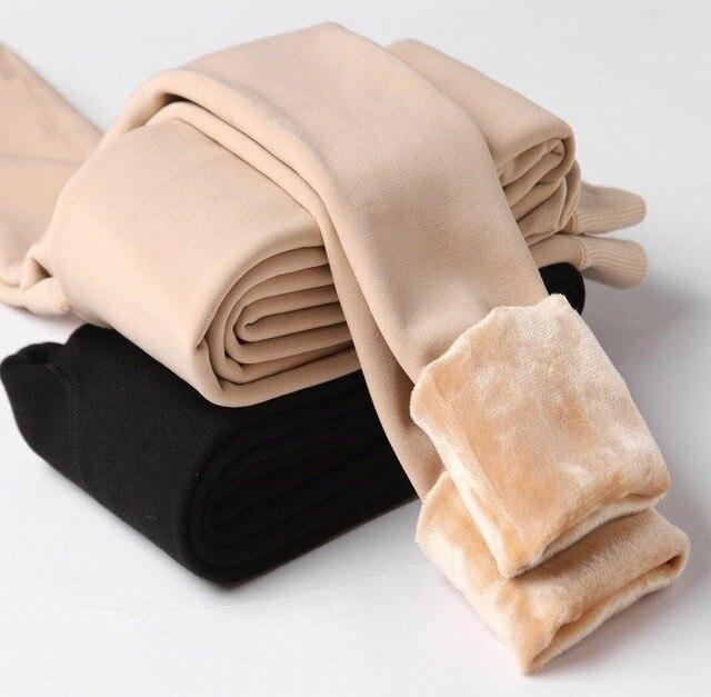 Velet Leggings for Women Thick Warm Stockings 1