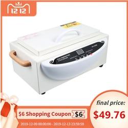 Gustala 220V esterilizador de alta temperatura Uña de manicura eléctrica herramientas desinfección gabinete equipo portátil herramienta de esterilización
