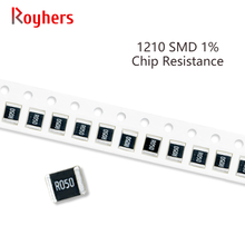 Conjunto de 100Pcs 1210 SMD Resistor 1% Tolerância 0R-392R 160R 180R 200R 220R 240R 270R 10 Ohm Componentes Eletrônicos DIY Assorted Kit