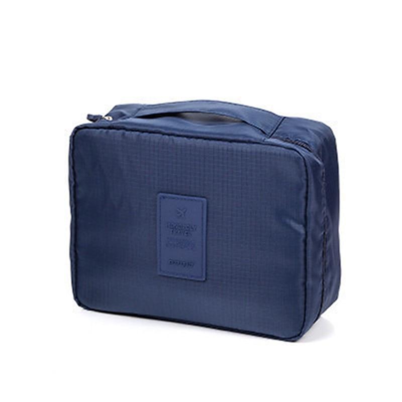 1PC Cosmetic Bag Nylon Waterproof Multi-function Washing Storage Bag Travel Portable Makeup Case Large Capacity Bag Dropship New
