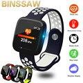 Смарт-часы BINSSAW 2019  IP67  водонепроницаемые  с напоминанием о сидячем положении  Bluetooth  с циферблатом  с монитором сердечного ритма  gps часы  спор...