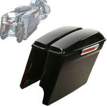 Motorcycle Luggage Box Top Case Hard Saddlebag For Touring Road King Road Glide Street Glide 2014-2018 2015
