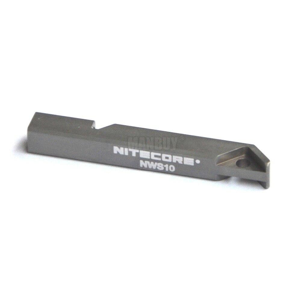 2020 NITECORE 120DB Outdoor Emergency Lifesaving Survival Whistle NWS10 Titanium Alloy OUTDOOR Portable Lighting Accessories NEW