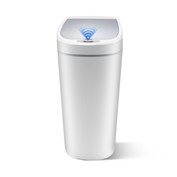 10L Narrow Type Trash Can Zero Waste Recycle Bin Automatic Trash Bin Smart Kitchen Dustbin Touchless Garbage Rubbish Waste Bin papelera kosz na smieci garbage de bag holder reciclaje commercial hotel lixeira cubo basura recycle bin dustbin trash can