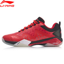 Li-Ning Men SHADOW OF BLADE 4.0 Professional Badminton Competition Shoes LiNing CLOUD LITE Sport Shoes Sneakers AYAP019 SJAP19(China)