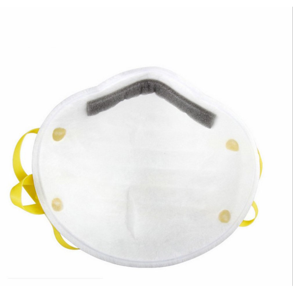 3M 8210 N95 Mask for Protection from Dust Particles and Flu with Adjustable Metal Nose Clip 1