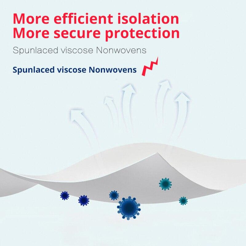 Image 4 - 100pcs Mascherine Disposable Filter Pad Masks Respirator  Smog For kf94 N95 KN95 FFp3 2 1 All FaceMasks