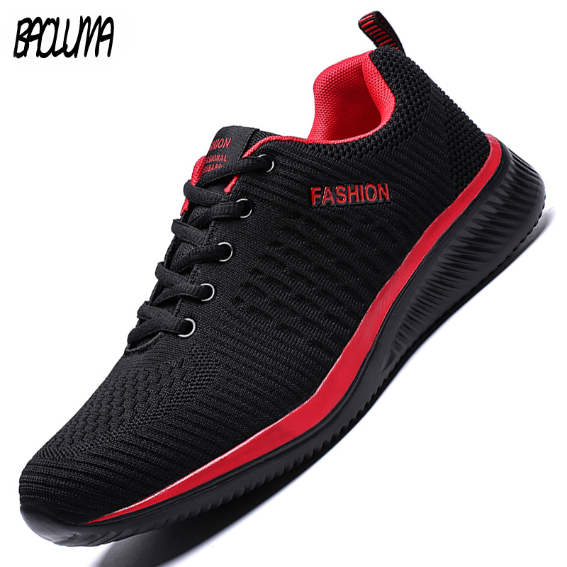 Casual Shoes Moccasins Mesh Men Sneakers Lightweight Breathable Hot-Sale Men's Fashion