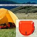 TRD Draht Seil Dispenser Stoßfest Schnell Schneiden Tools Paracord Lagerung Boxen für Überleben Notfall Liefert-in Outdoor-Werkzeuge aus Sport und Unterhaltung bei