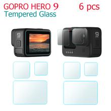 IN STOCK Tempered Glass Screen Protector For Gopro Hero 9 black Sport Camera Screen Protector Film Camera Accessories cheap BEHORSE CN(Origin) Accessories Set Kit