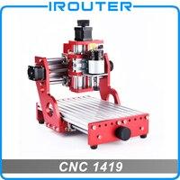 Máquina cnc  cnc 1419  máquina de corte de gravura do metal  alumínio cobre madeira pvc pcb escultura máquina  roteador cnc|Roteadores de madeira| |  -