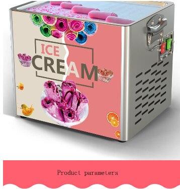 Home Use Mini Fry Ice Cream Roll Machine