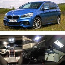 5x LED innen beleuchtung komplette set Für BMW 2er F46 Gran Tourer lesen licht hinten lichter fehler freies