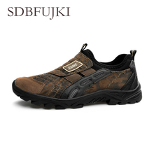Factory Outlet Light Weight Men Hiking Shoes Flannel Climbing Trekking Shoes Outdoor Mountain Walking Shoes For Men Sneakers 2017 camssoo mens hiking shoes for outdoor light weight walking shoes breathable climbing camping sport shoes free shipping 3093