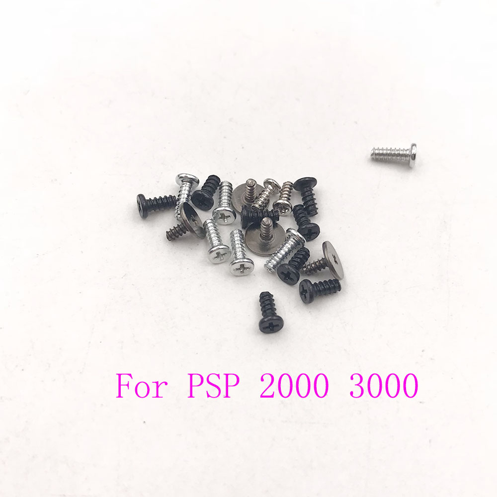 New For PSP-2001 PSP-2000 PSP Slim Complete Screw Set For PSP 3000