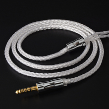 2019 NICEHCK C16 1 16 Cores Silver Plated Cable 3.5/2.5/4.4mm Plug MMCX/2Pin/QDC/NX7 For TFZ KZCCA ZSX C12 NICEHCK NX7 PRO BL 03